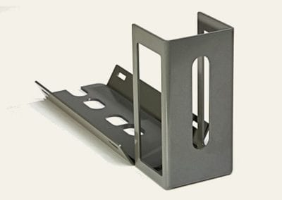 Gray Multi Slotted Bracket