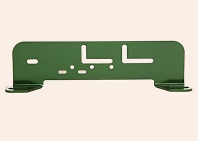 Green Stamped Bracket